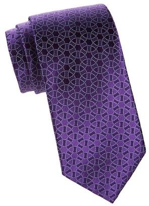 Charvet Circle Silk Tie