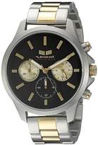 Vestal Unisex HEICM05 Heirloom Chrono Analog Display Quartz Silver Watch