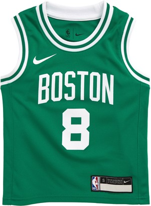 Nike Jordan Kids' Dri-FIT NBA Icon Edition Boston Celtics Kemba Walker Mesh Tank