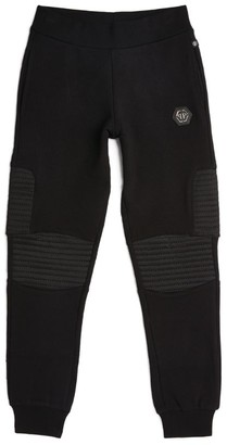 Philipp Plein Junior Logo Patch Sweatpants (4-16 Years)