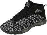 Rocawear Black & White Fit Hi-Top Sneaker
