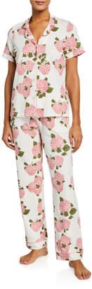 Bedhead Pajamas Floral Short-Sleeve Classic Pajama Set