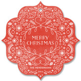 Minted Christmas Morning Holiday Ornament Cards