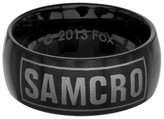Sons of Anarchy Men's Sons of Anarchy SAMCRO Stainless Steel Ring - Black