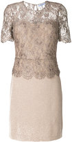 Blumarine lace bodice dress