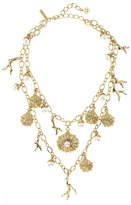 Oscar de la Renta Urchin Two-Strand Charm Necklace