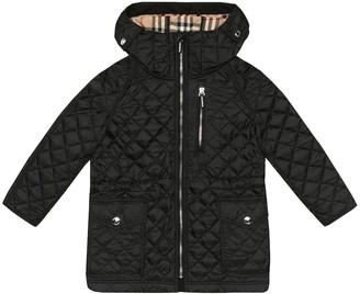 Burberry Trey quilted coat