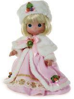 Precious Moments Winter Wonderland Doll with Blonde Hair