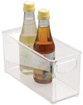 InterDesign Kitchen, Pantry, Refrigerator, Freezer Storage Container - Medium, Clear