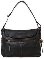 The Sak Leather Flap Shoulder Bag