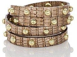 Brahmin Stud Wrap Bracelet Cabana Vineyard