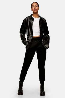 Topman Womens Black Classic Joggers - Black
