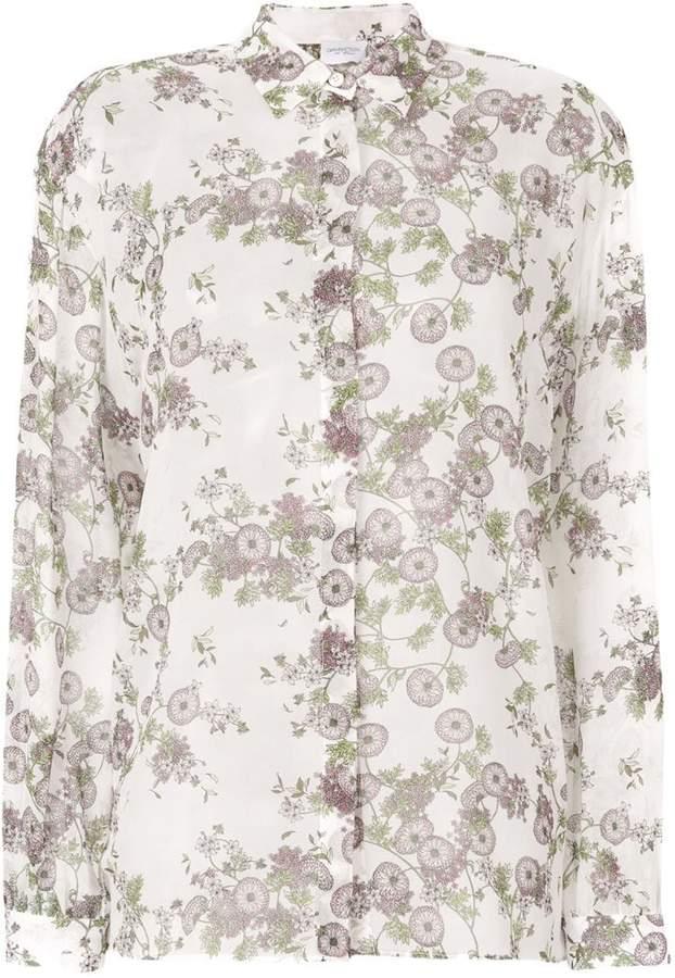 Giambattista Valli floral print shirt