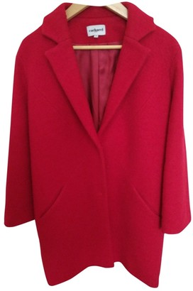 Cacharel Red Wool Coats