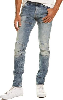 G-Star Raw 5620 3D Light Vintage Aged Destroy Skinny Leg Jean