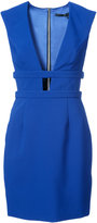 Jay Godfrey plunge cut-out mini dress - women - Polyester/Polyurethane - 0