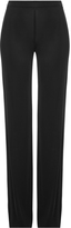 Emilio Pucci Straight Leg Pants with Silk