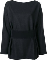Jil Sander waistband top - women - Spandex/Elastane/Virgin Wool - 34