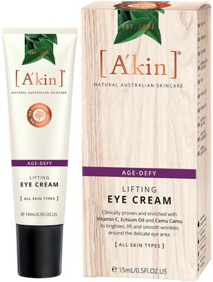 Akin A'kin Age Defy Lifting Eye Cream 15ml