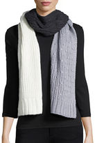 MICHAEL Michael Kors Colorblocked Knit Scarf
