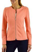 Studio Women's Pique Moto Jacket