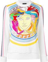Versace Medusa print top - women - Cotton/Polyamide/Spandex/Elastane/Viscose - 38