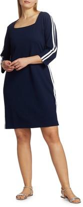 Joan Vass, Plus Size Racing Stripe Dress