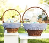 Pottery Barn Kids Navy Gingham Easter Basket Liners
