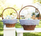 Pottery Barn Kids Navy Gingham Easter Basket Liners