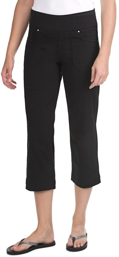 Dahlia JAG Crop Pants - Twill, Comfort Fit, Mid Rise (For Women)