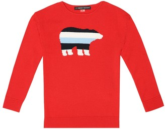 Perfect Moment Kids Merino wool sweater