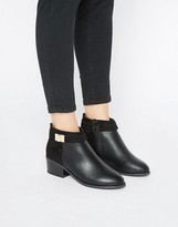 Miss Selfridge Buckle Detail Boot