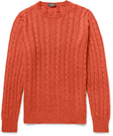 Incotex - Cable-knit Virgin Wool Sweater