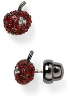 Marc by Marc Jacobs Cherry Pavé Stud Earrings