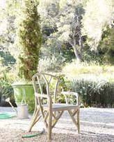 Horchow Artemis Faux-Bois Outdoor Dining Chair