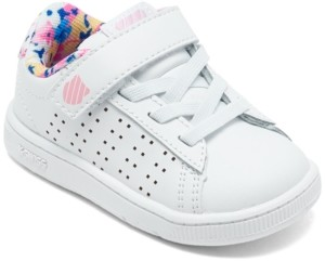 K-Swiss Toddler Girls Court Casper Casual Sneakers from Finish Line