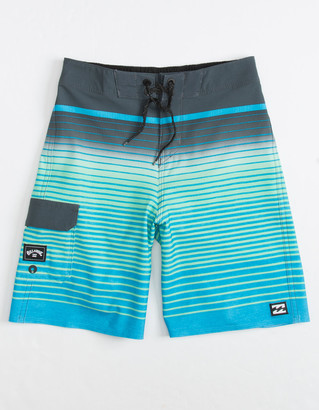 Billabong All Day Stripe Pro Little Boys Boardshorts (4-7)