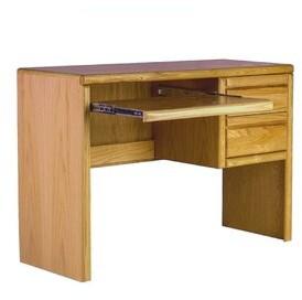 Loon Peak Mcintosh Computer Desk Finish: Chestnut Oak