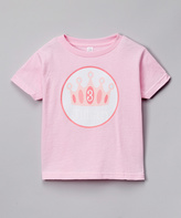 Swag Pink Birthday Crown Personalized Tee - Infant Toddler & Girls