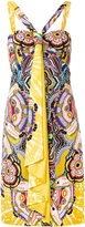 Roberto Cavalli halterneck flared printed dress - women - Viscose - 44