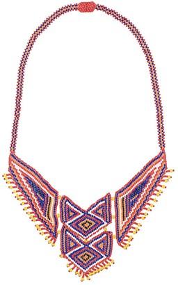 Jessie Western Beaded Boho Necklace
