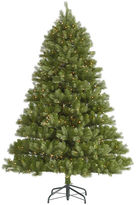 Asstd National Brand 6.5' Pre-Lit Belvedere Spruce Artificial ChristmasTree with Clear LED Lights