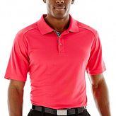 JCPenney St. Andrews of Scotland Golf Textured Polo Shirt