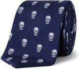 Simon Carter Skull Motif Tie
