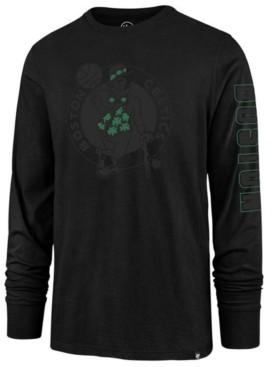 '47 Men's Boston Celtics Color Pop Super Rival Long Sleeve T-Shirt