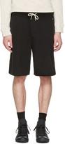 Rag & Bone Black Standard Issue Sweat Shorts