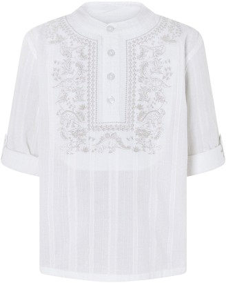 Monsoon Boys Keagan Kurta Shirt - Ivory