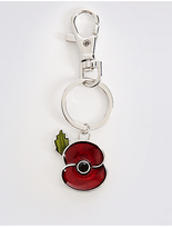 M&S Collection The Poppy Collection® Keyring