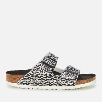 Birkenstock Women's Arizona Leopard Print Double Strap Sandals