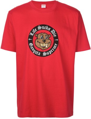 Supreme slogan T-shirt